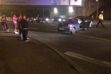Accident pe Calea Florești. Două autoturisme s-au ciocnit frontal . Șoferul era băut – FOTO