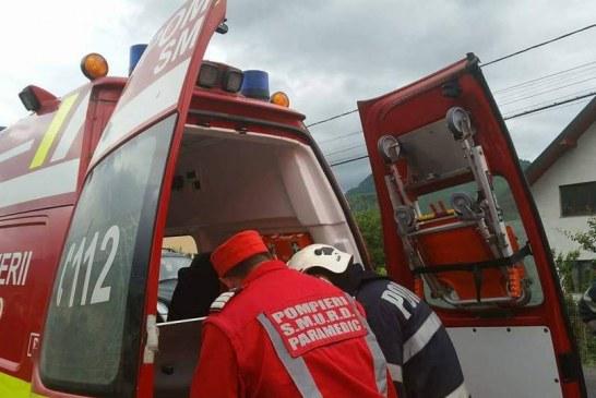 Patru persoane rănite în urma unui accident pe DN 1F