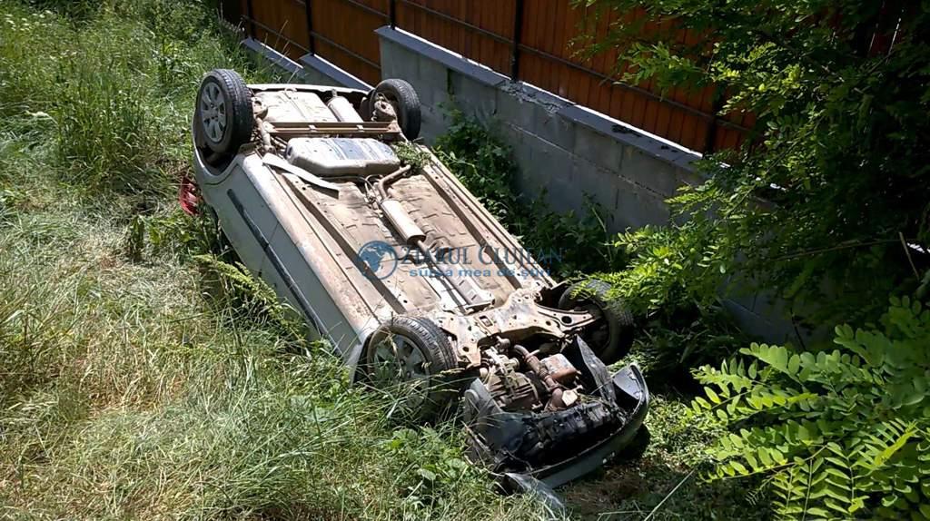 Accident grav în Poiana Blenchii. Patru persoane au ajuns la spital