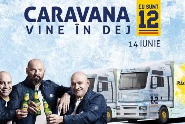 """Bogdan Stelea și Caravana """"Eu sunt 12"""" ajung miercuri la Dej. Apoi la Huedin, Cluj și Turda"""