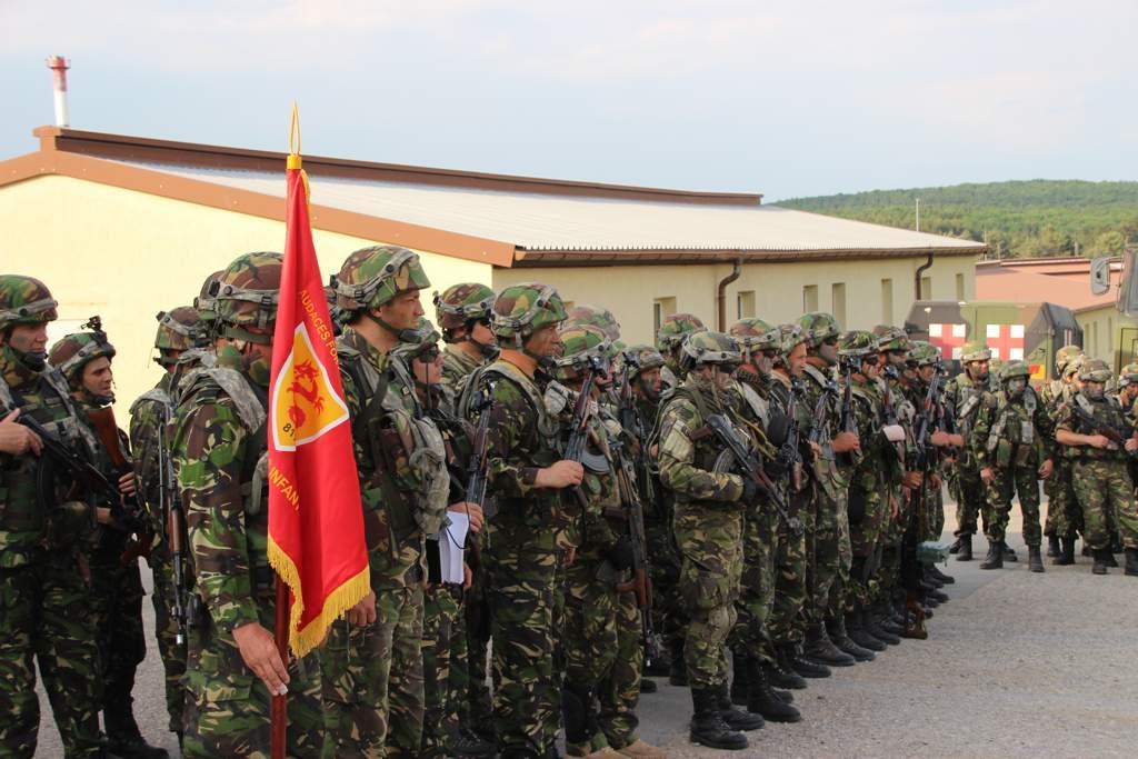 dragonii transilvani dej exercitiu militar germania