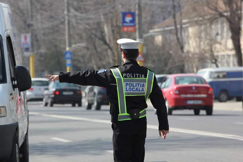 politia locala circulatie trafic masini