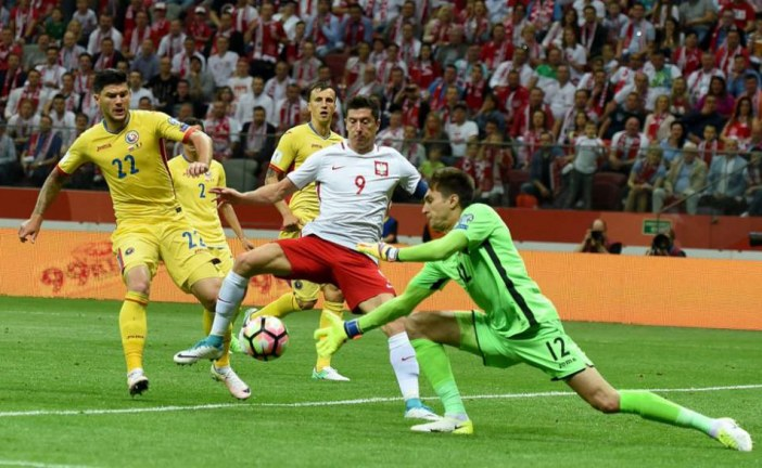 Polonia – România 3-1, în preliminariile Cupei Mondiale din 2018