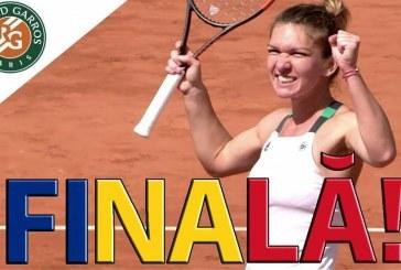 Simona Halep, calificată în finala de la Roland Garros, unde o va întâlni pe Jelena Ostapenko