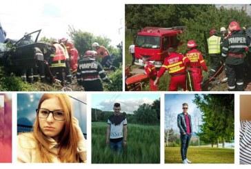 Familie îndoliată: Patru frați și un verișor decedați este bilanțul accidentului din Bistrița – FOTO/VIDEO