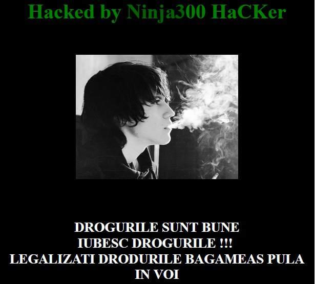 Site-ul de turism al Dejului, spart de hackeri – FOTO