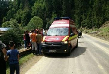 Accident mortal la Văleni. Un bărbat s-a răsturnat cu un ATV