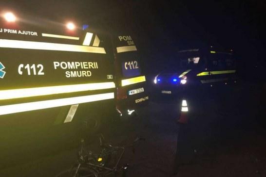 Tânăr din Nima, reținut după ce a condus beat, a accidentat un biciclist și a fugit de la locul accidentului