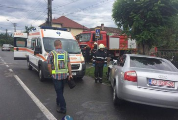 Tânăr de 16 ani, băut la volan a provocat un accident rutier în Șieu-Sfântu