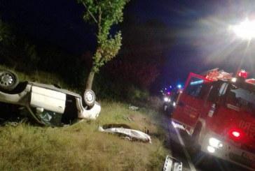 Trei sălăjeni morți și doi răniți după ce s-au răsturnat cu mașina la Zerind