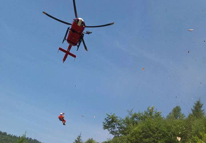 elicopter smurd salvamont bistrita
