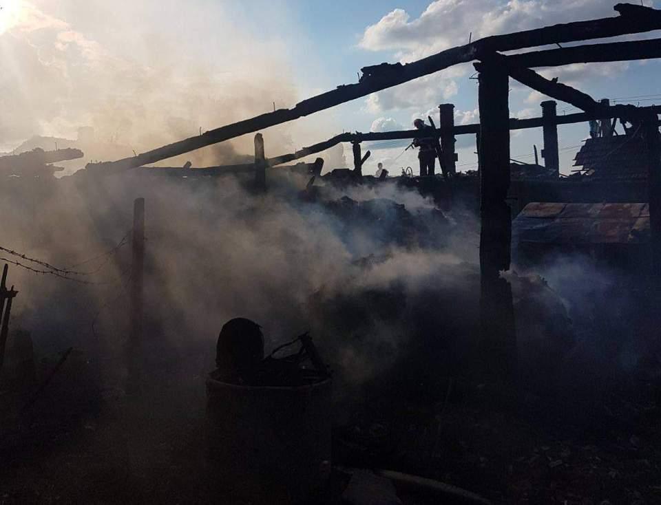 incendiu anexa gospodarie salaj