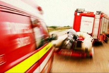 Tânăr salvat dintr-o groapă de 4 metri de pompieri