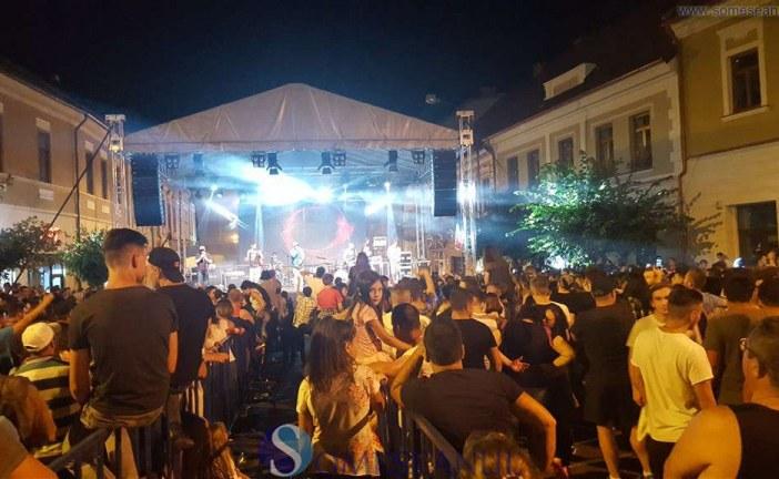 Show de zile mari în prima seară de sărbătoare a Zilelor Dejului – FOTO/VIDEO