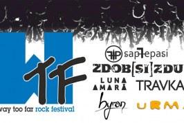 Way Too Far – festival rock la Bistrița, în Wonderland