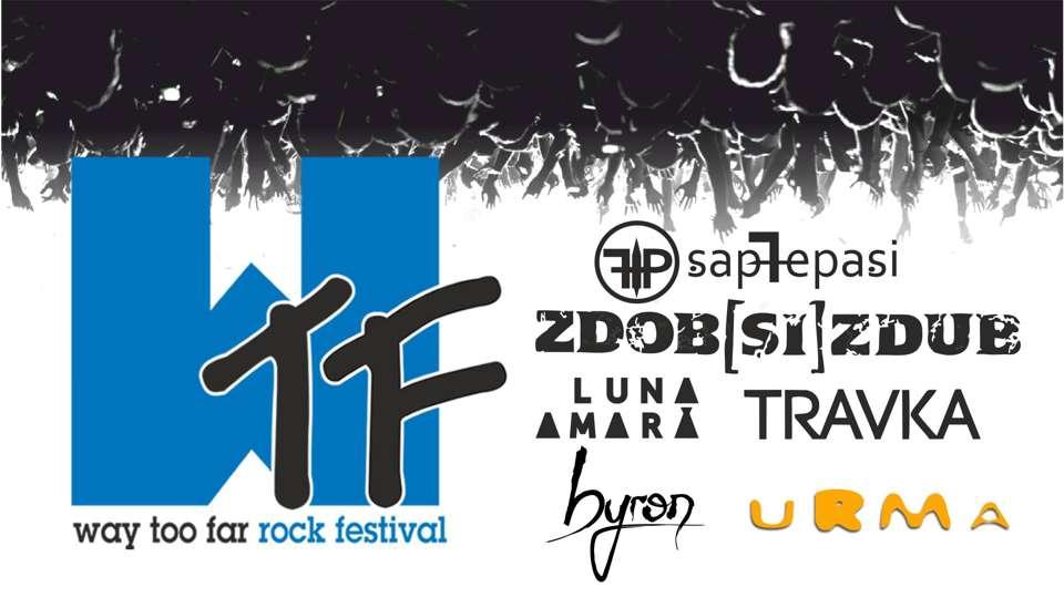 Way Too Far – festival rock