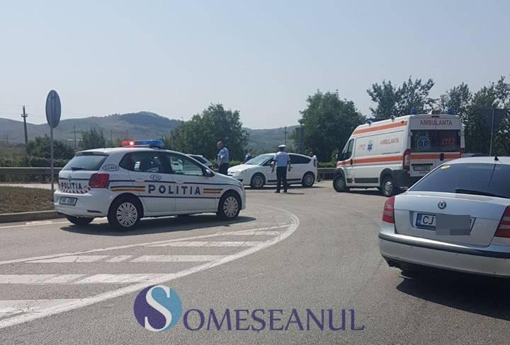 Accident la Băița. Două mașini s-au ciocnit violent – FOTO/VIDEO