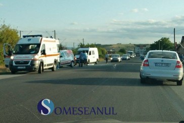 Accident cu mai multe victime la Jucu. Două autoturisme s-au ciocnit – FOTO