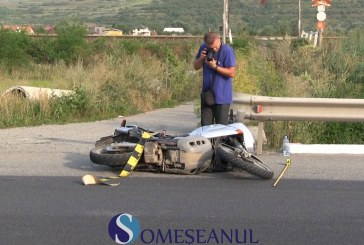 Accident la Livada. Motociclist băut, accidentat de un șofer din Iași – VIDEO