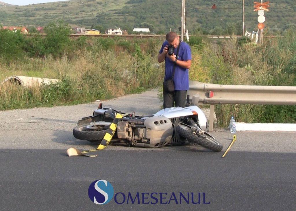 Accident la Livada. Motociclist băut, accidentat de un șofer din Iași – VIDEO