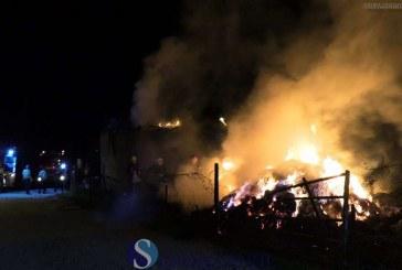 Incendiu puternic la o gospodărie din Ocna Dejului – VIDEO