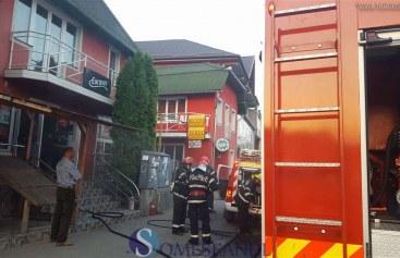 Evenimente la Dej: Un accident și un incendiu pe Dealul Florilor – FOTO/VIDEO