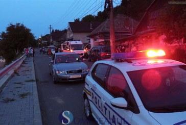 Minoră accidentată de o mașină la Dej. A sărit în fața autoturismului – VIDEO