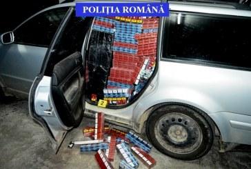 Peste 340.000 de țigarete ridicate de polițiști bistrițeni, de la un contrabandist