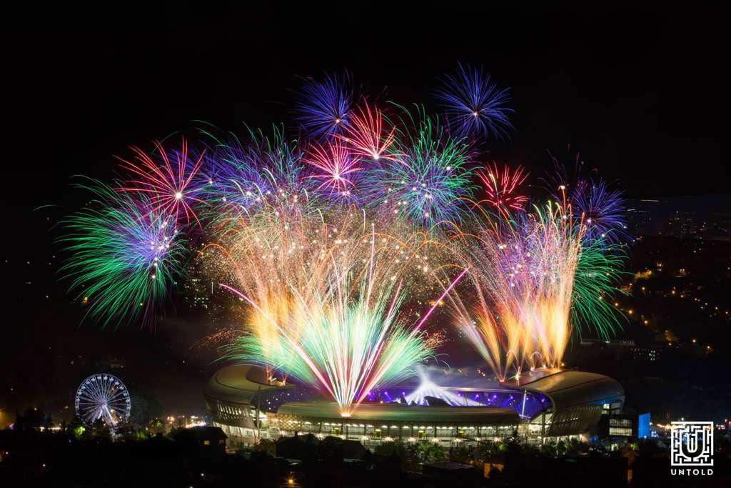 untod 2017 artificii cluj arena