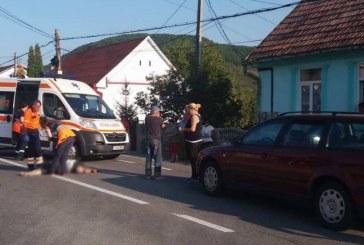 Accident mortal pe strada Șomcutului din Dej. O femeie a fost lovită de o mașină – FOTO