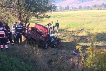 Accident mortal pe DN 15A. Un mort și trei răniți grav – FOTO