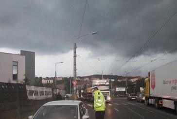 Peste 50 de polițiști au fost angrenați ieri într-o acțiune de prevenire a accidentelor rutiere de pe raza municipiului Cluj-Napoca