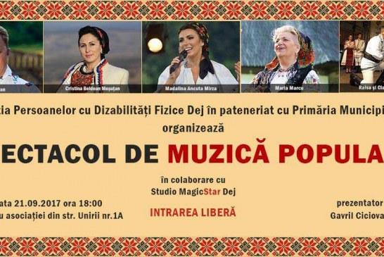 Spectacol caritabil la Dej, dedicat persoanelor cu dizabilități