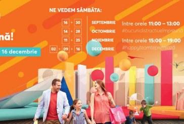 Centrul Comercial Auchan Cluj declară oficial sâmbăta ziua bucuriei împreună (P)