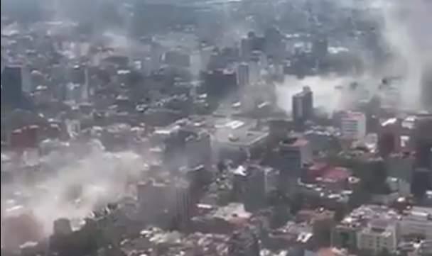cladiri prabusite cutremur mexic