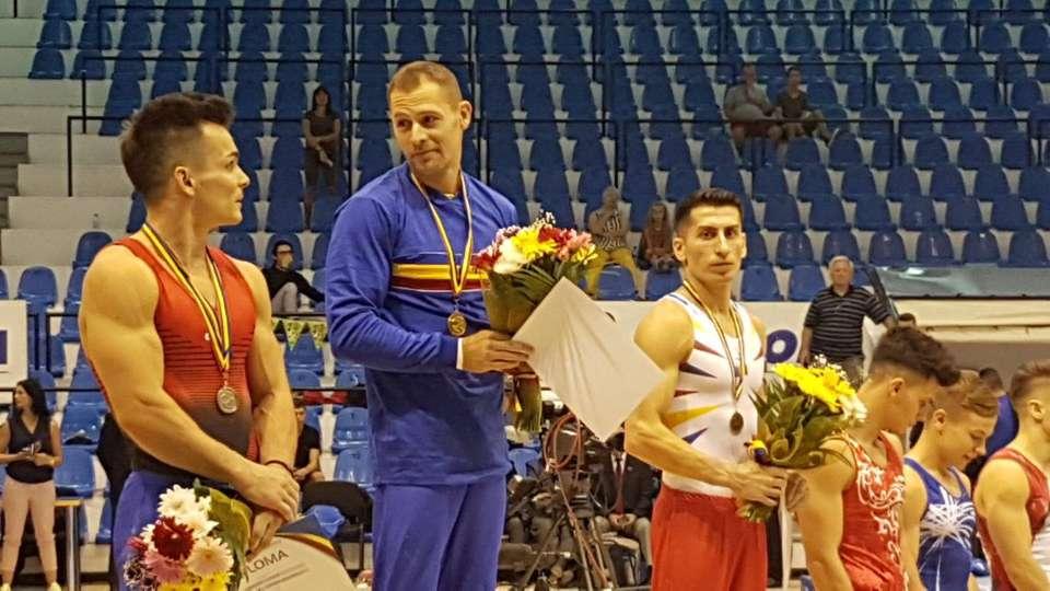 CSM Bistrița, locul doi la echipe (masculin) la Naționalele de Gimnastică