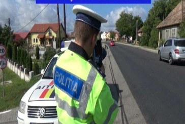 Abateri la regimul rutier, sancționate de polițiștii Inspectoratului de Poliție Județean Bistrița-Năsăud