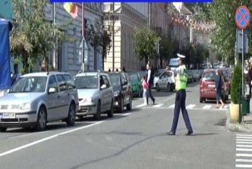 Acțiune de amploare a polițiștilor la Dej: 31 de permise reținute, un șofer beat și peste 120 de sancțiuni