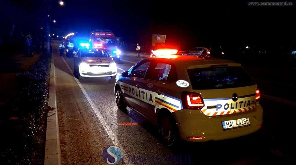 Accident provocat de un șofer băut, în Josenii Bîrgăului. Șoferul vinovat a fugit de la fața locului
