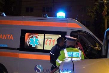 Accident provocat de un tânăr băut