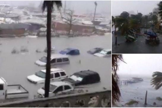 Trei cetăţeni români, aflaţi pe o insulă din Caraibe, daţi dispăruţi în urma uraganului Irma