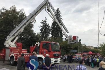 Ziua Pompierilor din România sărbătorită de ISU Cluj la Gherla – VIDEO