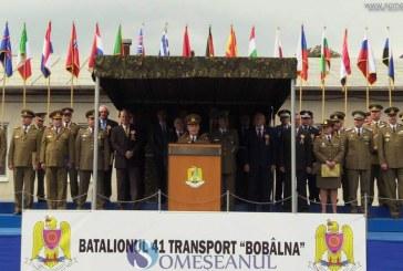 """Batalionul 41 Transport """"Bobâlna"""" a împlinit 15 ani de la înființare – FOTO/VIDEO"""