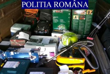 Percheziții într-o comună din Cluj. Polițiștii au ridicat mai multe bunuri suspectate că provin din activități ilicite