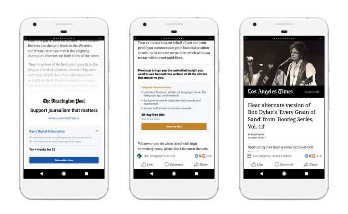 Utilizatorii Facebook vor avea acces la ştirile postate în cadrul reţelei doar pe bază de abonament