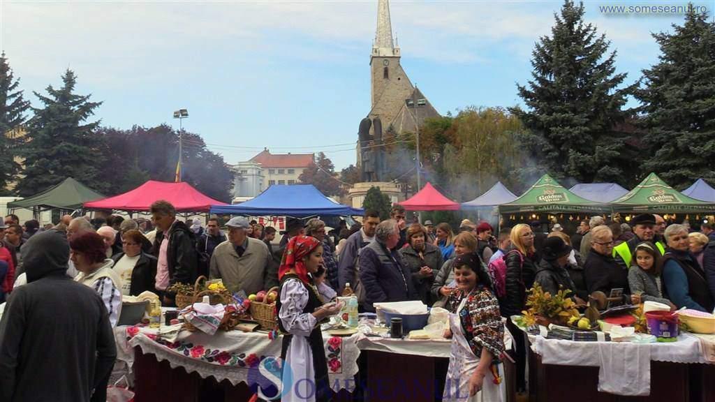 festivalul placintelor ziua recoltei dej