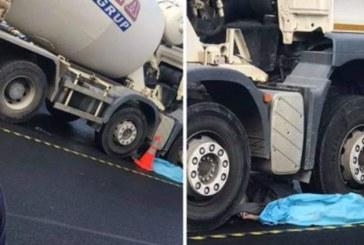 Accident mortal în Mărăști. Bărbat cu capul strivit de o betonieră – VIDEO