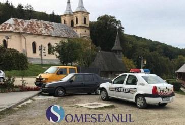 Proiectil neexplodat găsit la Mănăstirea Nicula – FOTO