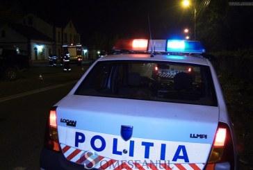 Trei mașini parcate lovite de un tânăr băut