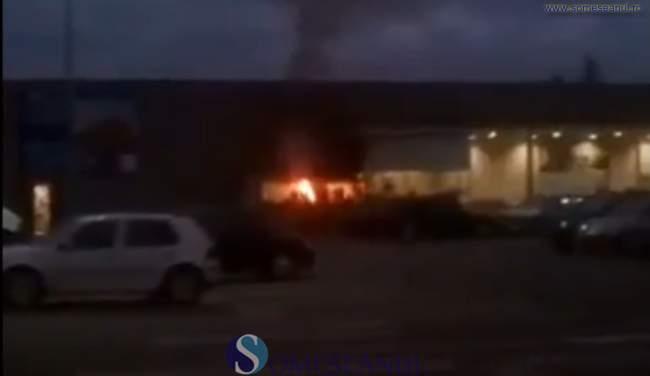 someseanul-incendiu grill kaufland gherla